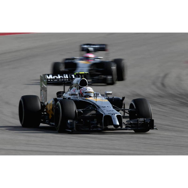 Kevin Magnussen of Denmark and McLaren in action during the United States Formula One Grand Prix at Circuit of The Americas in Austin, United States | TotalPoster