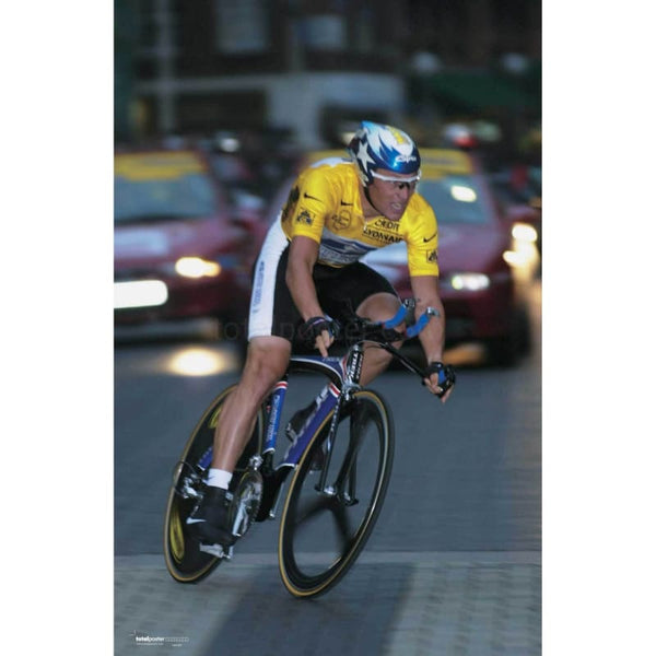 Lance Armstrong TotalPoster