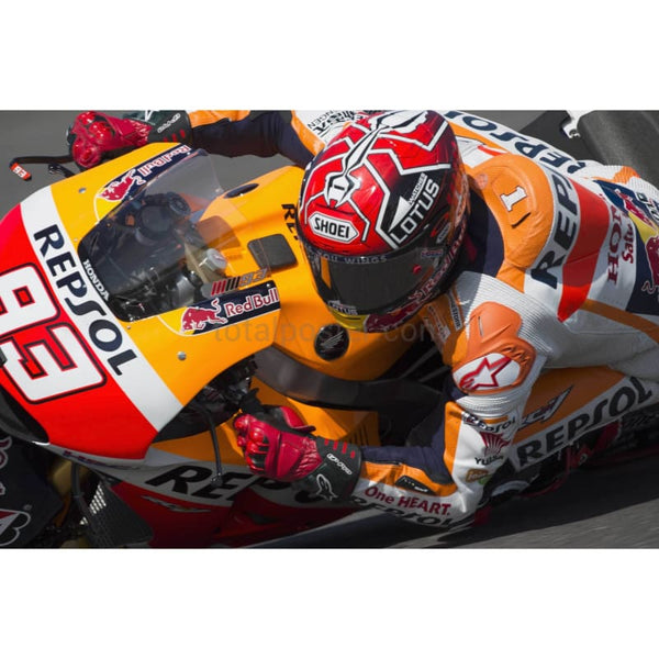 Marc Marquez / Repsol Honda Team during the MotoF1 Grand Prix of Argentina - Qualifying at Rio Hondo, Argentina | TotalPoster