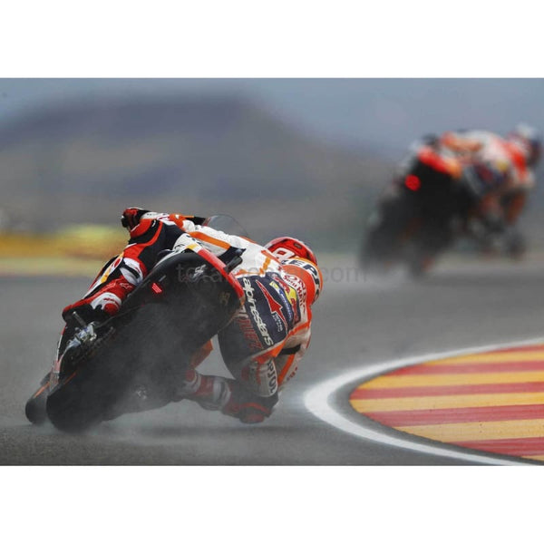 Marc Marquez follows Pedrosa | MotoGP Posters TotalPoster