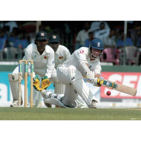 Marcus Trescothick in action during the 3rd Test against Sri Lanka at Colombo | TotalPoster