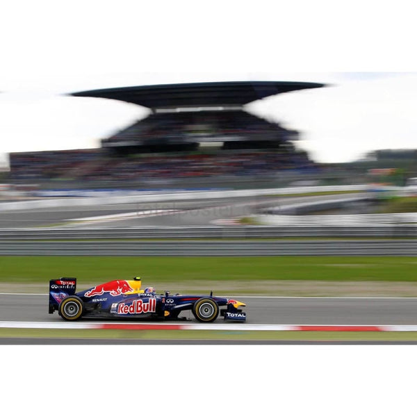 Mark Webber / Red Bull Racing drives during the final practice session for the German Formula One Grand Prix at the Nurburgring | TotalPoster