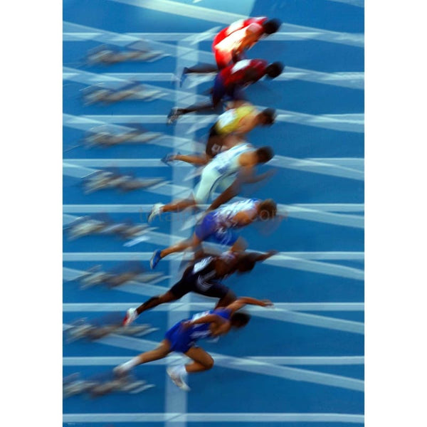 Mens 100m Startt | Athletics Posters | TotalPoster