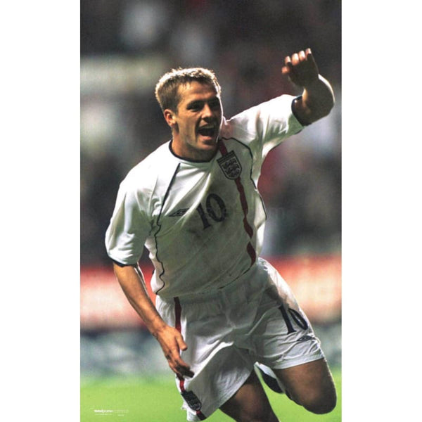 Michael Owen | Football Poster | TotalPoster