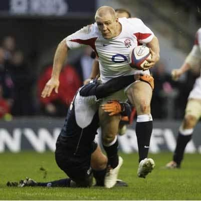 Mike Tindall | England Six Nations rugby posters TotalPoster