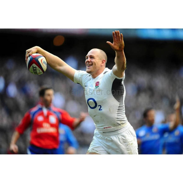 Mike Tindall scores | England Six Nations posters TotalPoster