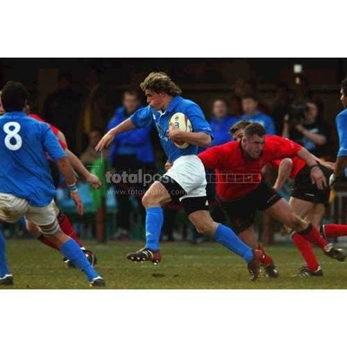 Mirco Bergamasco | Italy Six Nations rugby posters