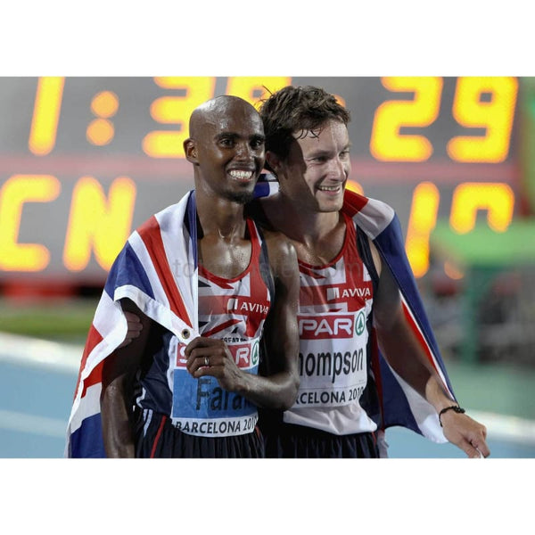 Mo Farah & Chris Thompson TotalPoster