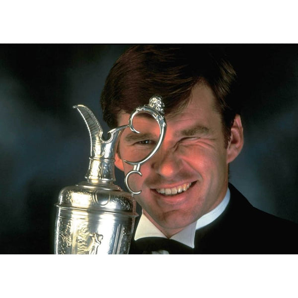 Nick Faldo Total Poster