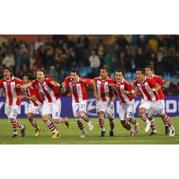 Paraguay Team Celebrate | Football Poster | TotalPoster