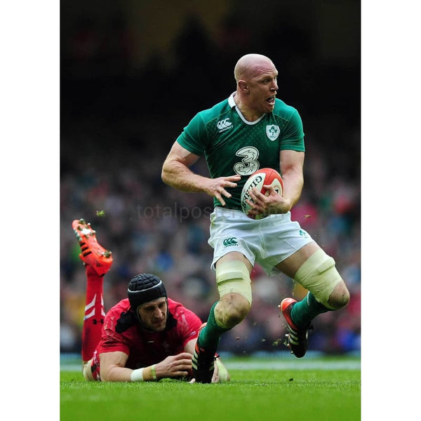Paul O'Connell is tackled | Ireland Six Nations posters TotalPoster