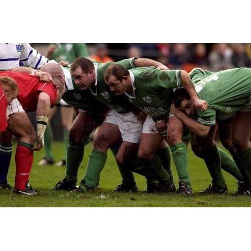 Peter Clohessy | Ireland Six Nations rugby posters