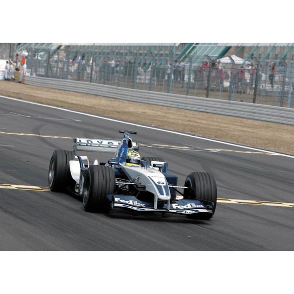 Ralf Schumacher / Williams F1 BMW wins the European Grand Prix at the Nurburgring | TotalPoster