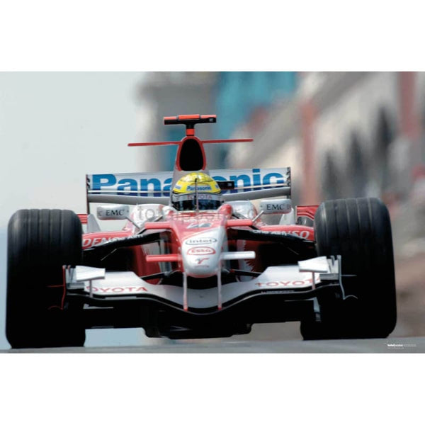 Ralf Schumacher / Toyota F1 leaves the pits during qualifying for the Grand Prix of Turkey | TotalPoster