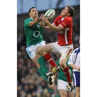 Rhys Priestland on the high ball | Wales Six Nations posters TotalPoster