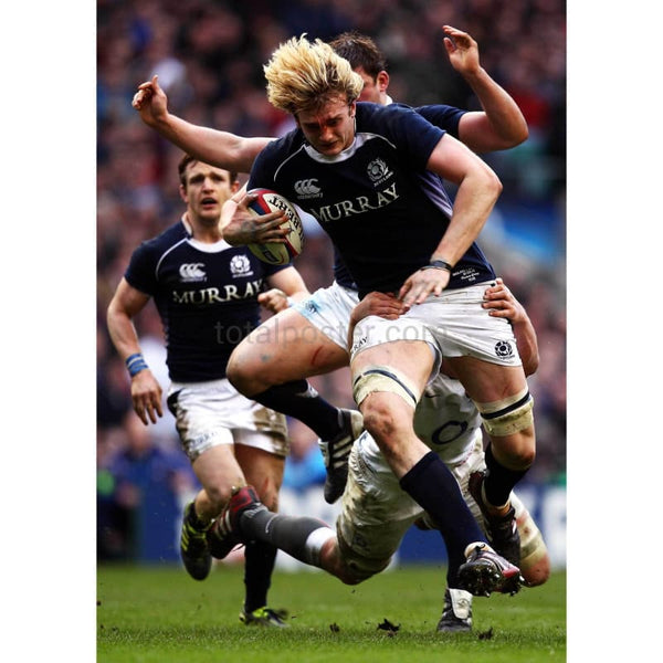 Richie Gray is tackled | Scotland Six Nations posters TotalPoster