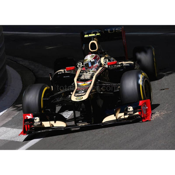 Romain Grosjean / Lotus drives during practice for the Monaco Formula One Grand Prix at the Monte Carlo Circuit | TotalPoster