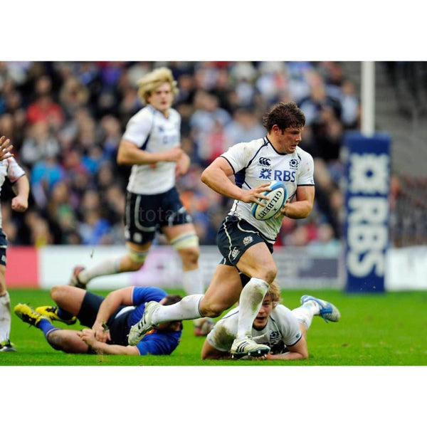 Ross Ford makes a break | Scotland Six Nations posters TotalPoster