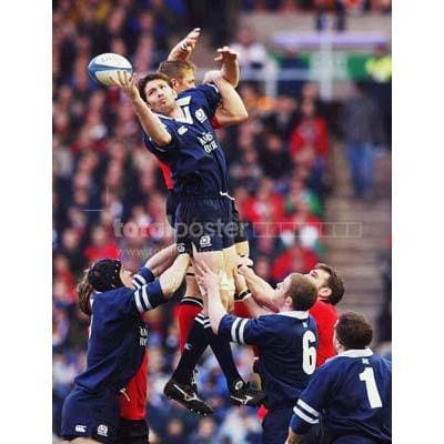 Scott Murray | Scotland Six Nations rugby posters