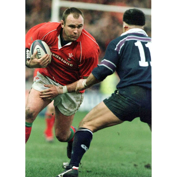 Scott Quinnell | Wales Six Nations rugby posters
