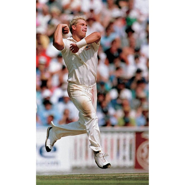 Shane Warne bowls | Cricket Posters | TotalPoster