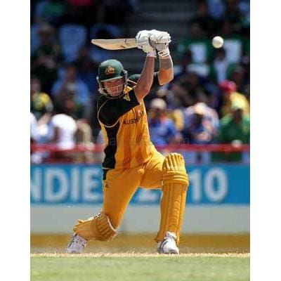 Shane Watson hits out during The ICC World Twenty20 Group A match between Pakistan and Australia | TotalPoster