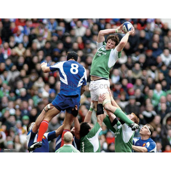 Simon Easterby | Ireland Six Nations rugby posters TotalPoster