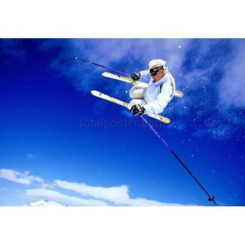 Skiing - Poster