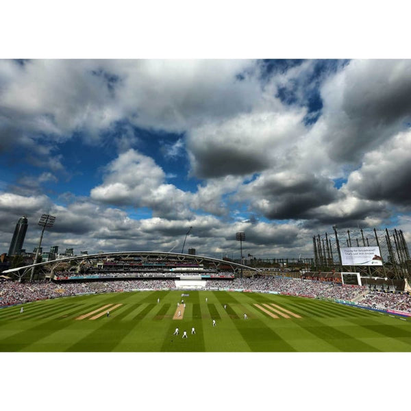 A general view of play during day two of the 5th Investec Ashes Test match between England and Australia at The Kia Oval | TotalPoster