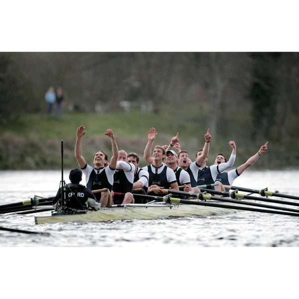 The Oxford Boat Crew - Poster