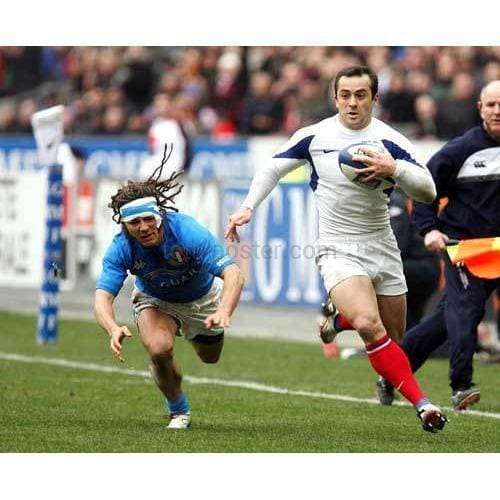 Thomas Castaignede | France Six Nations rugby posters TotalPoster