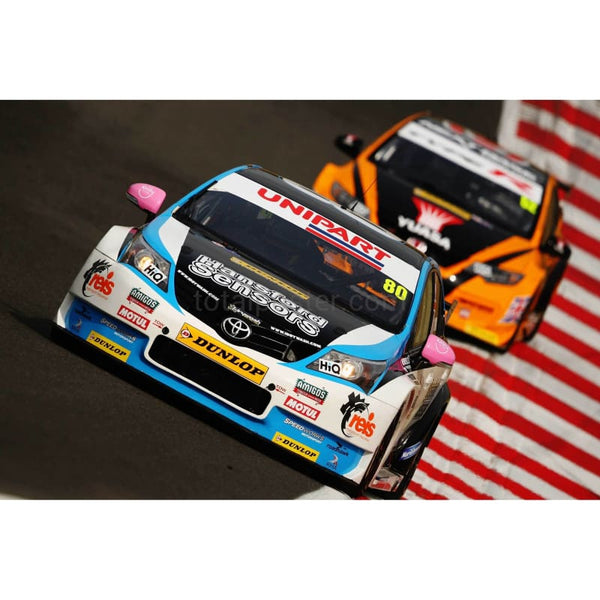 Tom Ingram | Touring Cars Poster | TotalPoster