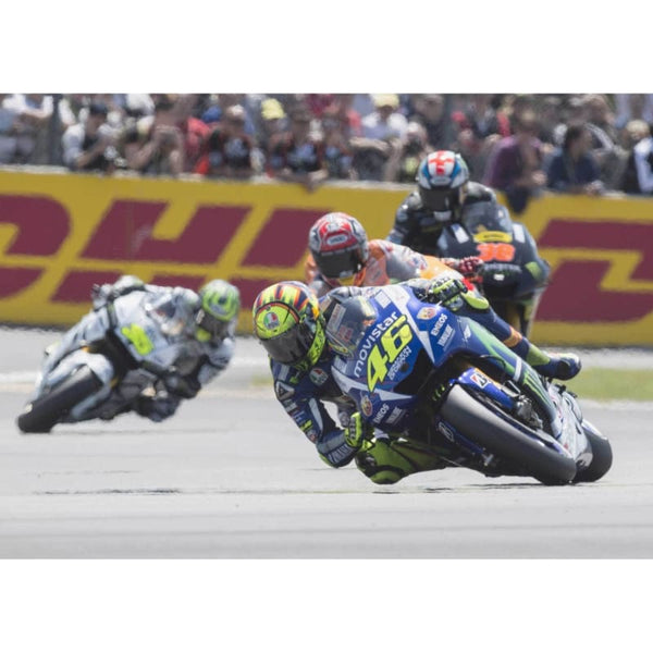 Valentino Rossi leads | MotoGP posters | TotalPoster