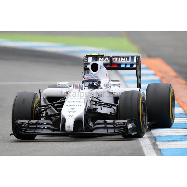 Valtteri Bottas of Finland and Williams drives during the German Grand Prix at Hockenheimring in Hockenheim, Germany | TotalPoster