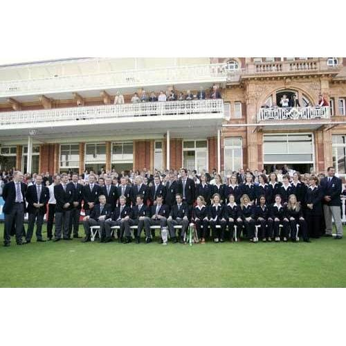 ictorious England Cricket Teams at the presentation of the Ashes Trophy at Lords | TotalPoster