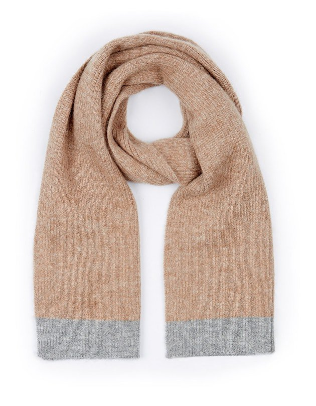 British alpaca and wool blend scarf available at Ally Bee