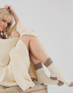 Cosy Alpaca & Wool Bedsocks from Ally Bee Knitwear