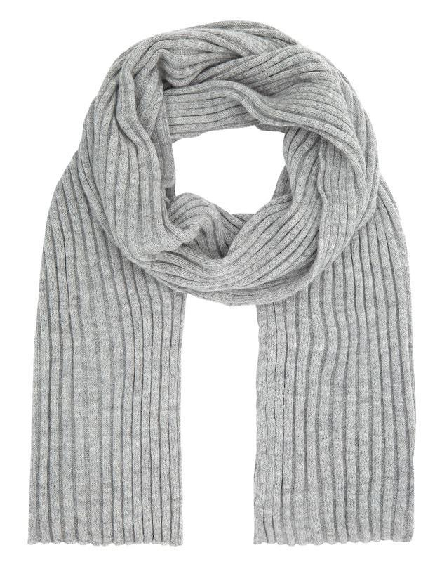 Pure British alpaca grey scarf throw from Ally Bee