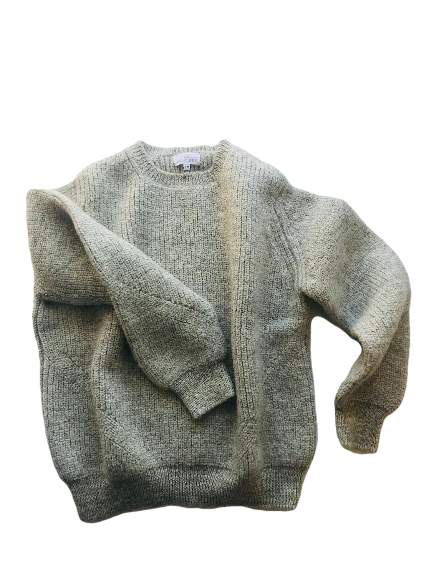 Alpaca Wool Jumper - crew neck, alpaca & wool, marl colours