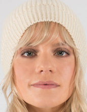 Fireside Beanie Hat - Wool, Cream