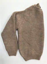 Ally Bee Brown Alpaca Jumper in pure Alpaca
