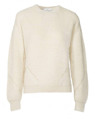 Fireside Jumper Crew neck cream