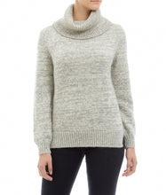 Roll Neck Jumper - Alpaca, Grey Marl