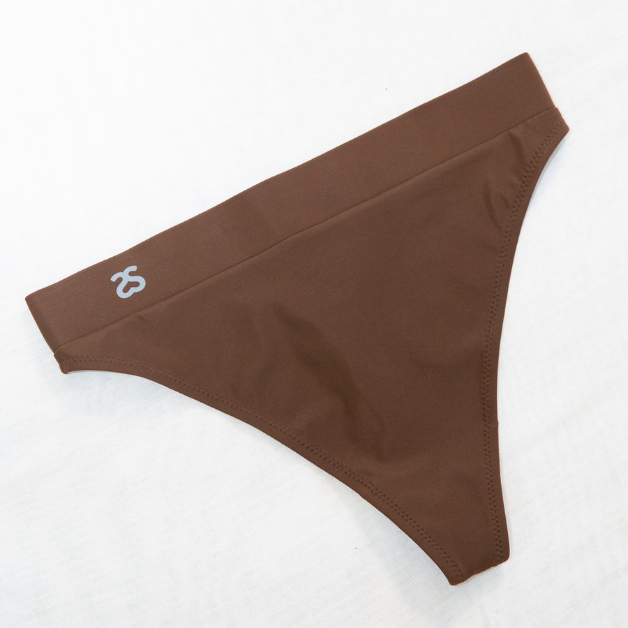 BLOOM HIGH WAIST THONG IN SHADED