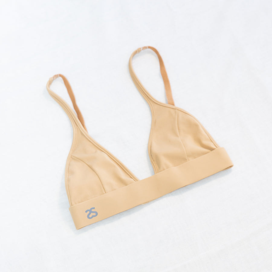 BLOSSOM TRIANGLE BRA IN PANCAKE