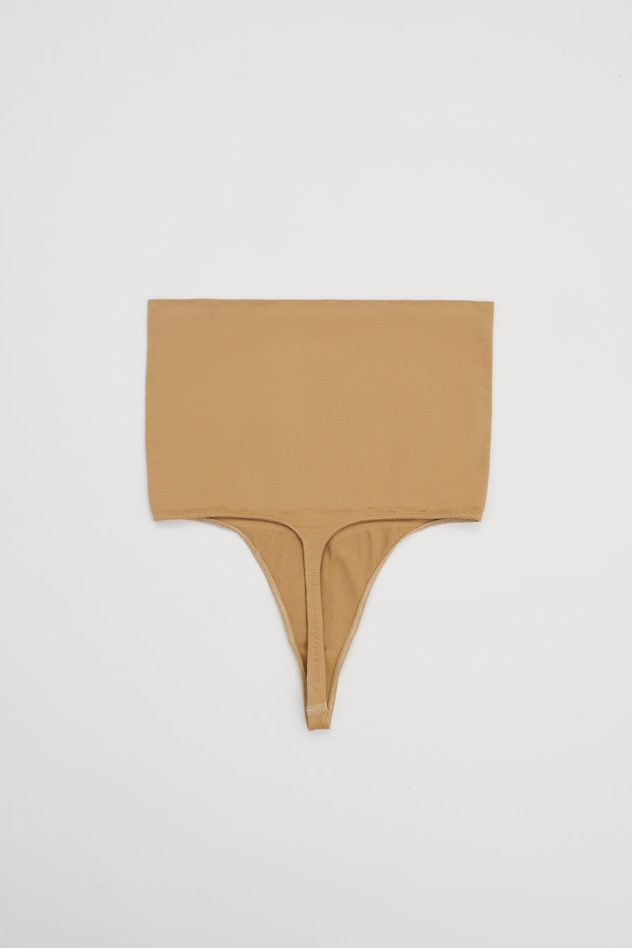 SUNRISE HIGH WAIST THONG SHAPER IN PANCAKE
