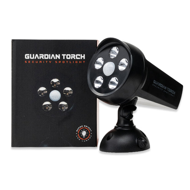 Guardian Torch Security Spotlight Retail Packaging