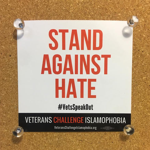 Stand Against Hate Sticker