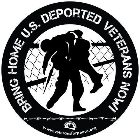 Deported Veterans Button