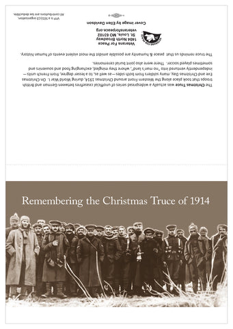 Christmas Truce of 1914 Holiday Cards [10 pack]